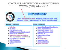Log into CIM, enter your contract or project number, find the value
