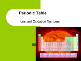 PT 4 Oxidation Numbers