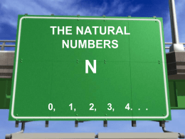natural numbers - kcpe-kcse