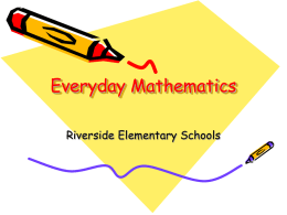Everyday Mathematics PP