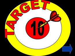 Target10 - Primary Resources