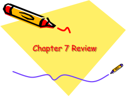 Chapter 7 Review - HRSBSTAFF Home Page