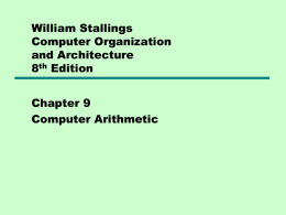 Chapter 9 &10 - UWC Computer Science