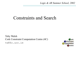 lecture 1 - School of Computing Science