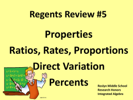 Regents Review #5