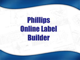 Building Product Labels