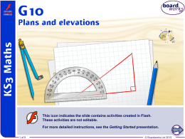G10 Plans and elevations