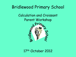 Addition - Bridlewood Primary School