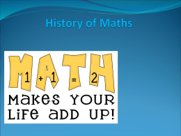 Abdurahman Abdi`s maths project
