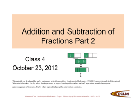 CCSS 101: Standards for Math Practices