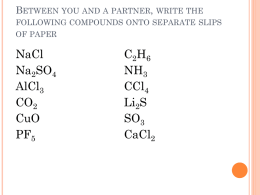 Writing compounds