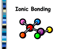 Deducing Formula of Ionic Compounds