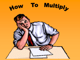 How_To_Multiply - DEP
