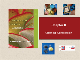 C8 Chemical Composition