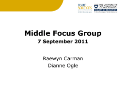Middle Focus group 7 Sept