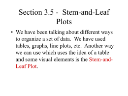 Section 3.5 - Stem-and