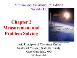 Chapter 2 PowerPoint - Southeast Online