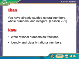 Write Mixed Numbers and Integers as Fractions