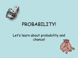 Simple Probability Powerpoint