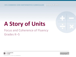 Focus and Coherence of Fluency in K-5 PowerPoint
