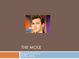 The Mole - Phillips Scientific Methods