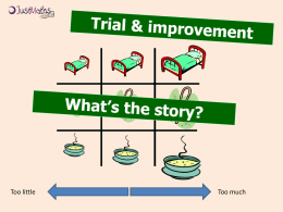 05 - Trial and Improvement - Lesson Slides