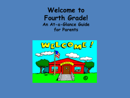 Fourth Grade! - Germantown School District