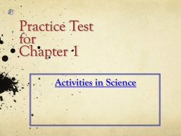 Chapter 2 Naming Practice Test