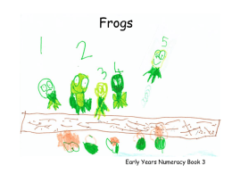 Frogs - Highland Numeracy Blog