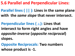 5_6 Parallel-Perpendicular Lines