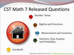 CST Geometry Released Questions
