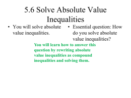 la1_ch05_06 Solve Absolute Value