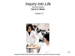 Inquiry into Life, Eleventh Edition