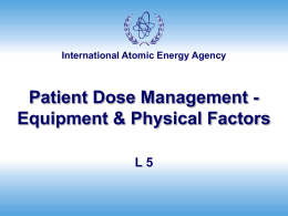 IAEA Training Material on Radiation Protection in Cardiology