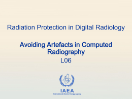 06. Avoiding Artefacts in Computed Radiography