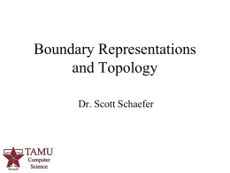 Boundary Representations and Topology