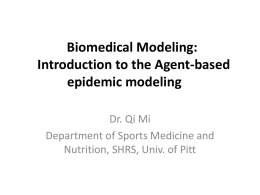 Biomedical modeling tutorial for high school students