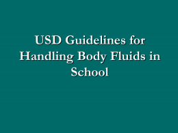 Body Fluids and - Uintah School District