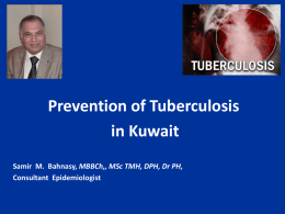 Prevention of Tuberculosis in Kuwait