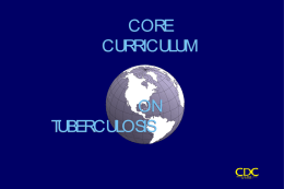 Core Curriculum Slides