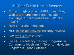Ontario Health Protection and Promotion Act