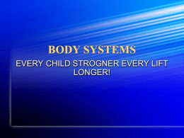 BODY SYSTEMS - River Vale Public Schools