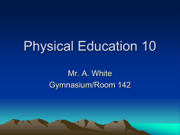 Physical Education 10
