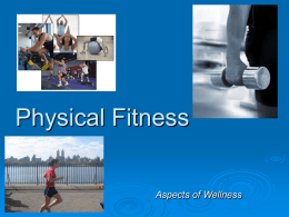 Physical Fitness - Northern Burlington County High School