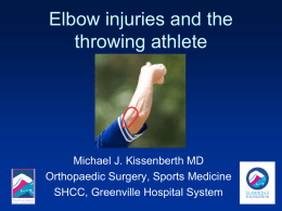 Throwing Elbow Problems.pps