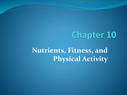 Physical activity - HCC Learning Web