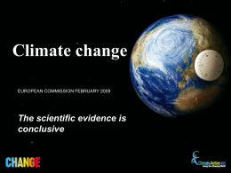 Climate change - European Commission
