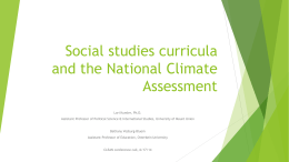 (C3) Framework for Social Studies State Standards