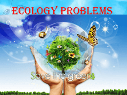 Ecology Problems