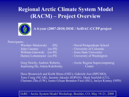 Regional Climate Modeling: Where have we been and where